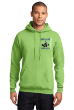 Load image into Gallery viewer, Hurry Up and Wait--Port & Company® - Core Fleece Pullover Hooded Sweatshirt-PC78H