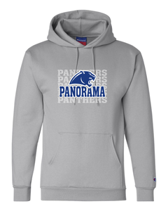 Panorama Boosters-Champion - Double Dry Eco® Hooded Sweatshirt - S700 Light Steel