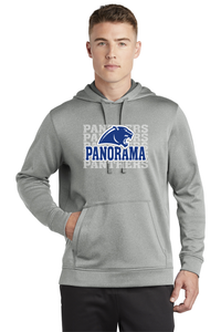 Panorama Boosters- Sport-Tek ® PosiCharge Sport-Wick Heather Fleece Hooded Pullover ST264 silver heather