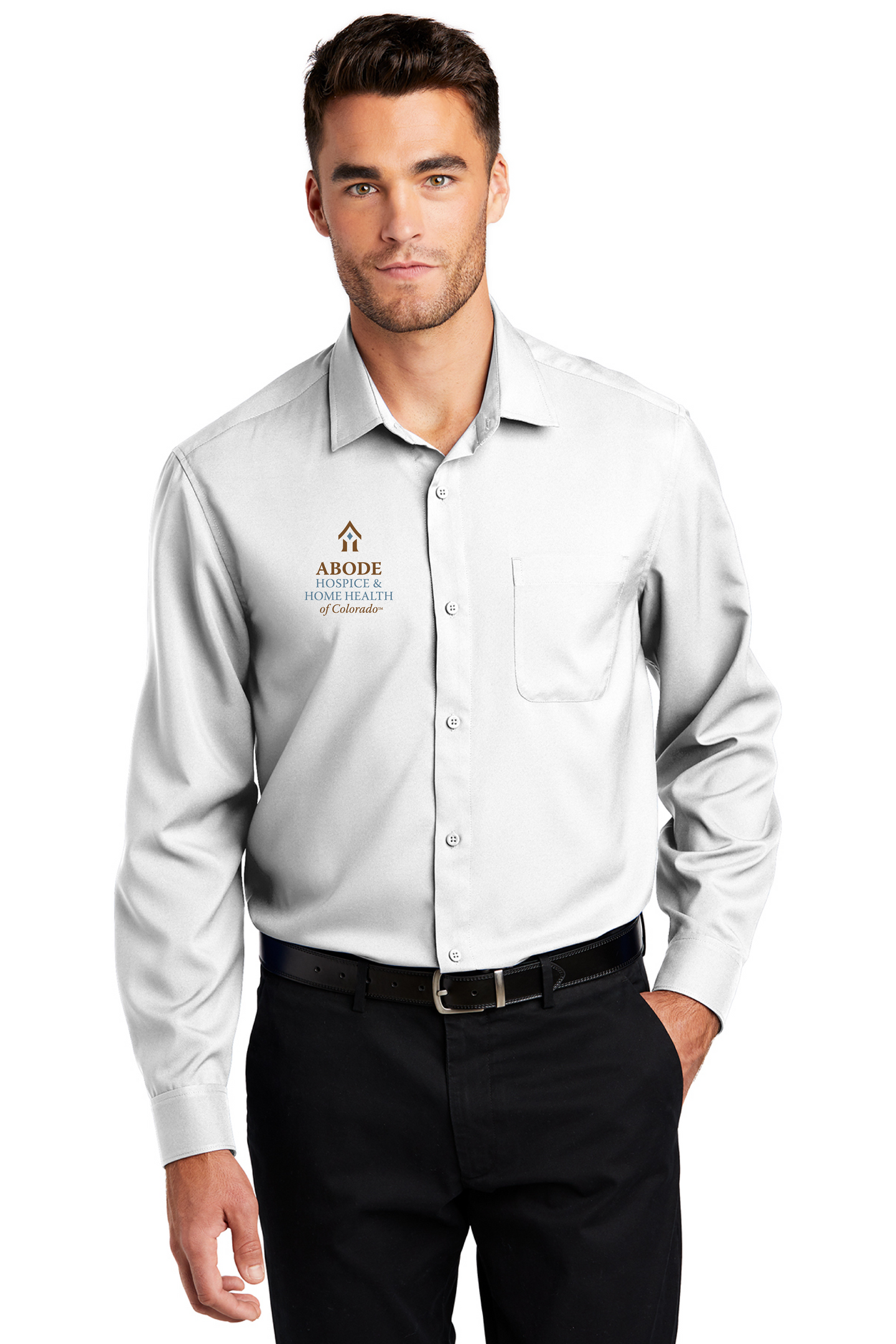 Abode Colorado-Port Authority ® Long Sleeve Performance Staff Shirt W401