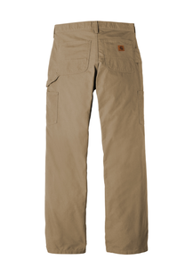 Homeworx-CTB151 Carhartt ® Canvas Work Dungaree--Dark Khakis