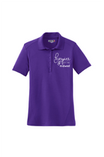 Load image into Gallery viewer, Hospice of the Midwest-Sport Tek Ladies Dry Zone® Raglan Accent Polo-L475