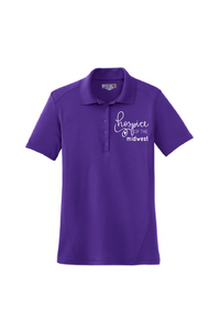 Hospice of the Midwest-Sport Tek Ladies Dry Zone® Raglan Accent Polo-L475