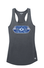 Load image into Gallery viewer, PANTHER STRENGTH-OGIO® ENDURANCE Ladies Racerback Pulse Tank