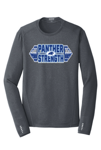 PANTHER STRENGTH--OGIO® ENDURANCE Long Sleeve Pulse Crew-OE321