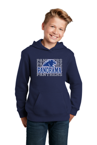 Panorama Boosters- Sport-Tek® Youth Pullover Hooded Sweatshirt-YST254 NAVY