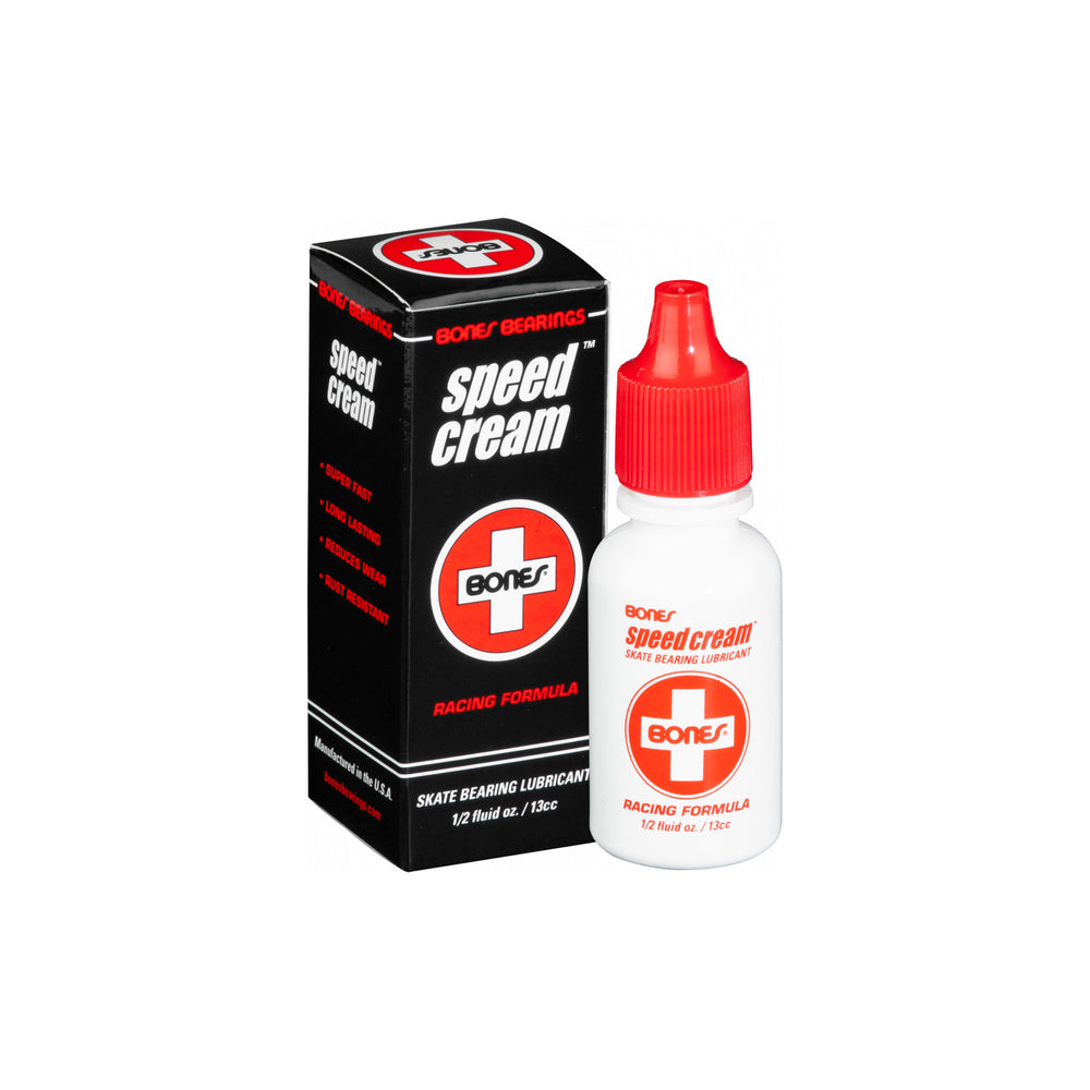 White and Red Bottle of Bearing Lubricant