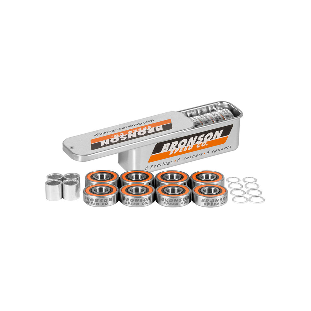 Bronson Speed Co. G3 Bearings 8 Pack