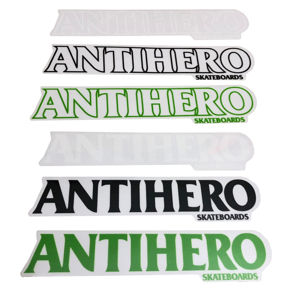 Anti-Hero Long BlackLogo Sticker