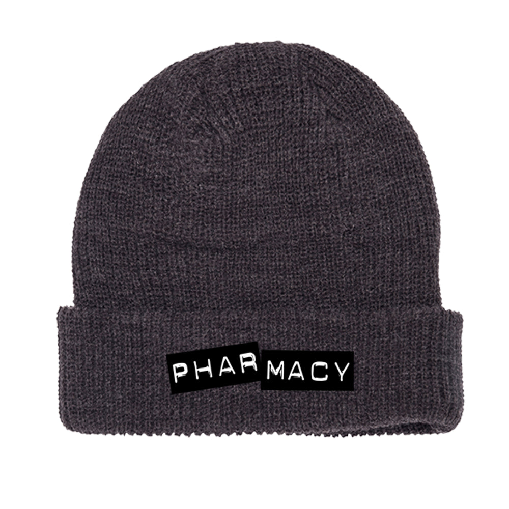Punch Label Beanie (Charcoal)