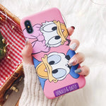 Cartoon iPhone TPU Case