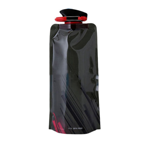 Foldable Water Bottle with Carabiner 23 oz. / 700 ml