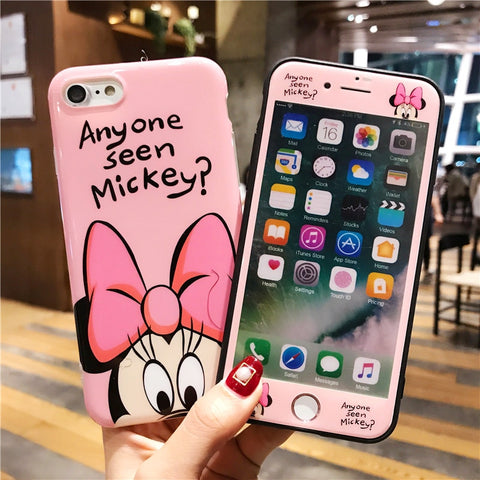Mickey & Friends 360 Full Cover iPhone Case - New Arrival