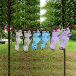 Clothesline with 12 Clothes Pegs