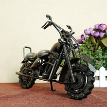 "Load image into Gallery viewer, Handcraft Big 27x8x20cm 10.6X3X8"" Creative Antique Harley Motorcycle Iron Metal Craft  Party Souvenir Home Decoration Collection"