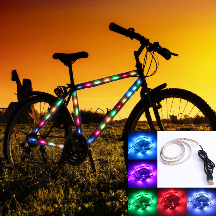 LED Light Strip DC 5V USB RGB 50CM 1M 2M 3M 4M 5M