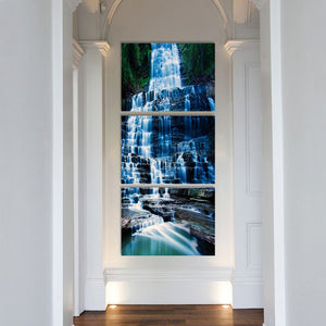 HD Printed 3 Pieces Waterfall