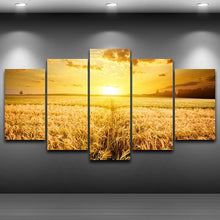 Load image into Gallery viewer, HD Printed 5 Panels Sunshine Wheat Field
