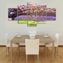Load image into Gallery viewer, HD Printed 5 Panels Branches In Full Bloom