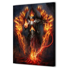Load image into Gallery viewer, HD Printed 1 Piece Fantastic Warrior Burning Armor