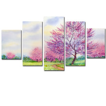 Load image into Gallery viewer, HD Printed 5 Pieces Pink Cherry Blossoms