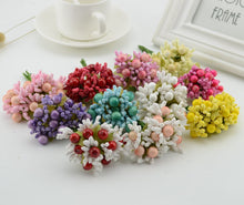 Load image into Gallery viewer, 10pcs berry stamens fake flower artificial flowers