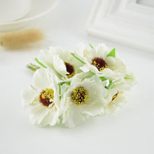 Load image into Gallery viewer, 6pcs silk Cherry blossom Artificial flower