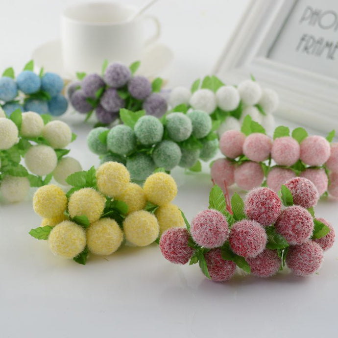 10pcs lovely Foam ball Artificial Flowers