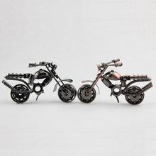 Load image into Gallery viewer, 1Piece 2 Colors Vintage Motorcycle Iron Screw Metal Craft as Wedding Birthday Party Souvenir Home Decor Shabby Chic Motorcycle
