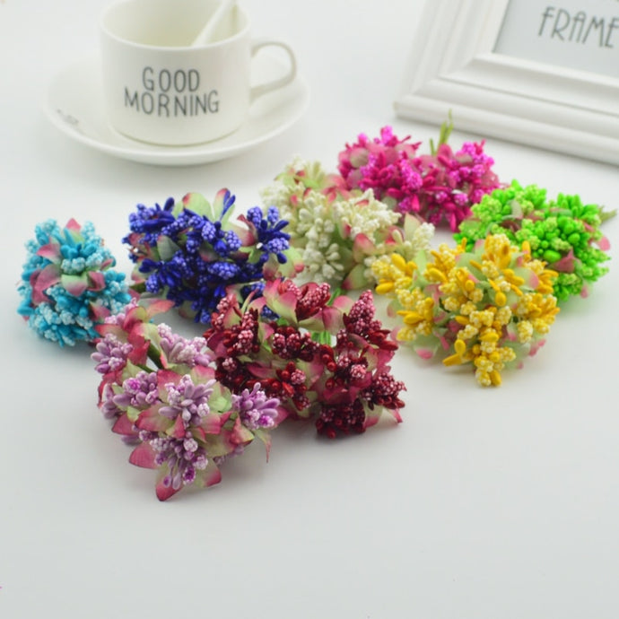 10pcs Artificial Mini Foam Flower
