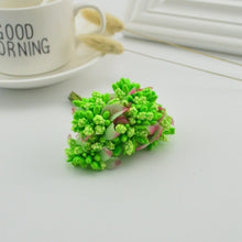 Load image into Gallery viewer, 10pcs Artificial Mini Foam Flower