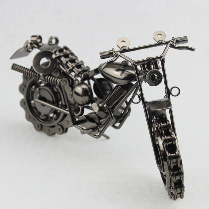 1pc 21*11cm Creative Vintage Motorcycle Iron Metal Screw Craft Model Party Souvenir Home Decor Shabby Chic Motor Van