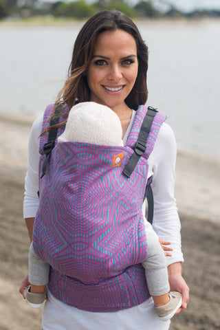 Careen Orchard (Full Wrap Conversion) - Nosidełko Chustowe Standard - Baby Tula