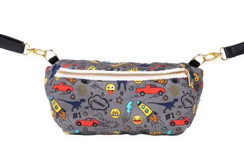 Stamps - Tula Hip Pouch - Baby Tula