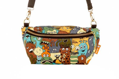 Eye Spy - Tula Hip Pouch - Baby Tula