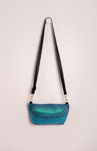 Girasol Summit (azul pacifico weft) - Tula Signature Hip Pouch