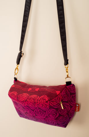 Oscha Roses Berry Crush - Tula Signature Hip Pouch
