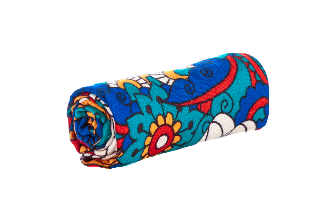Psychedelic Floral - Otulacz Tula - Baby Tula