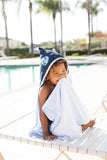 Space Kiddet - Tula Hooded Towel - Baby Tula