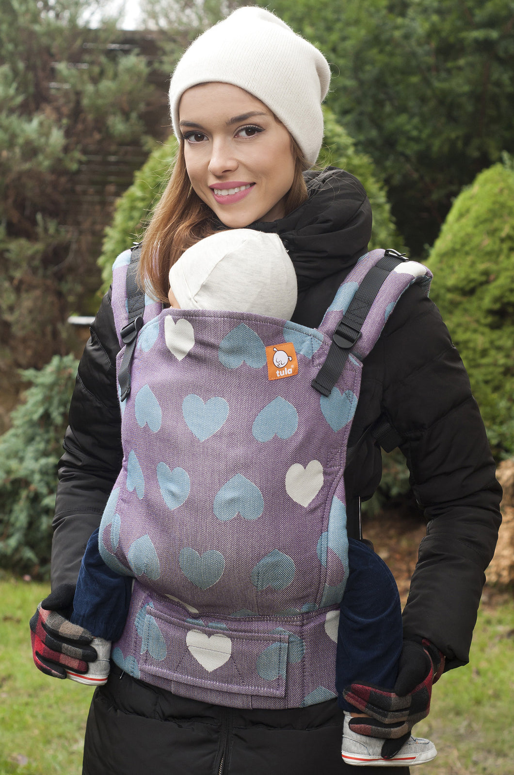 Love Lilas (Full Wrap Conversion) - Nosidełko Chustowe Toddler - Baby Tula