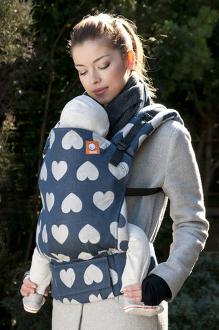 Love Soir (Full Wrap Conversion) - Nosidełko Chustowe Toddler - Baby Tula