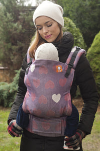 Love Violette (Full Wrap Conversion) - Nosidełko Chustowe Toddler - Baby Tula