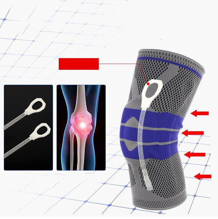 Nylon Silicon Knee Protection™