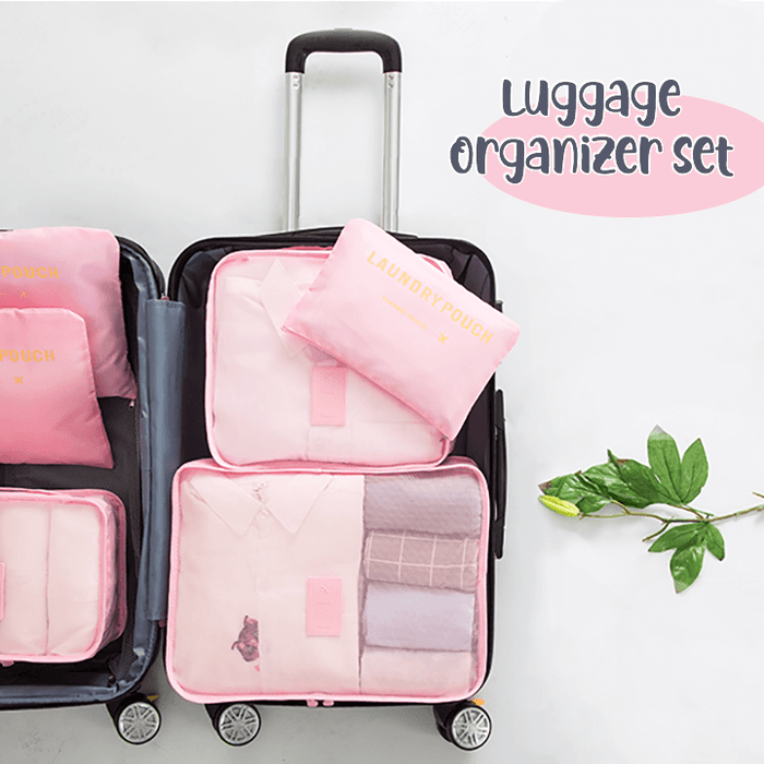 Luggage Packing Organizer Set (6 Pcs)