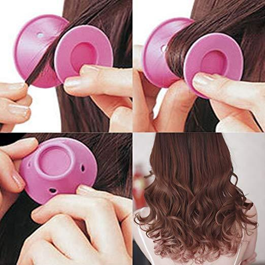 Magic Silicone Hair Curlers (10 Pieces)