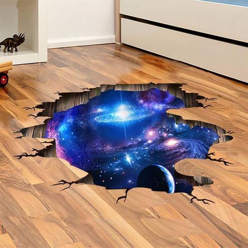 3D Space Sticker