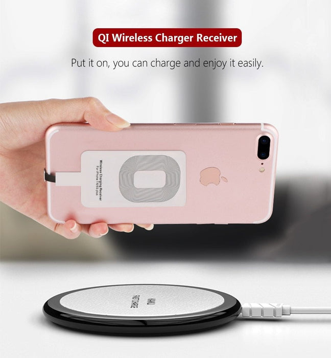 Universal Wireless Charging Receiver (Work for Android and iPhone)