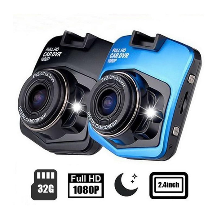 1080p HD Night Vision DVR Dash Camera