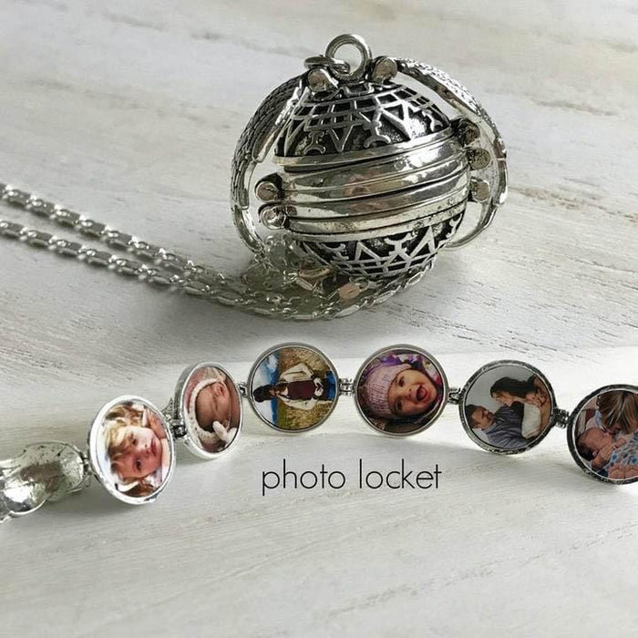 Handcrafted Expanding Photo Locket