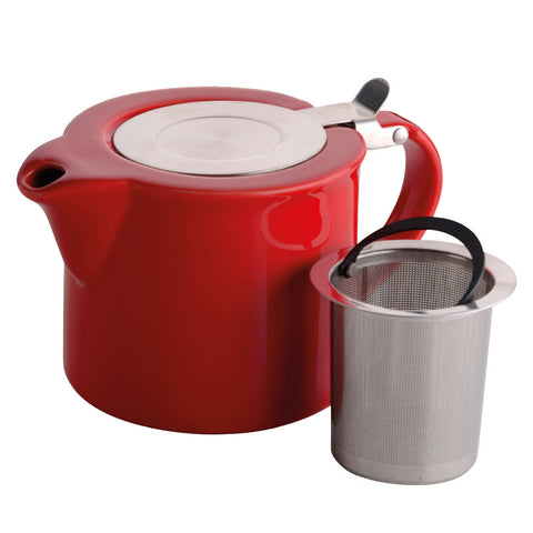 Bia Red 2 Cup Infuser Teapot